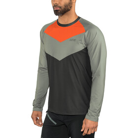 GORE WEAR C5 Trail Longsleeve Jersey Men terra grey/orange